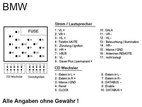 Bmw 1er Unterschied Navi Business Professional by Radiokabel Welche Farben Welcher Anschlu 223 3er Bmw E46