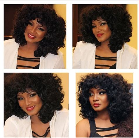 omotola jalade ekeinde hairstyles hairtrend the omotola inspired wig is taking over