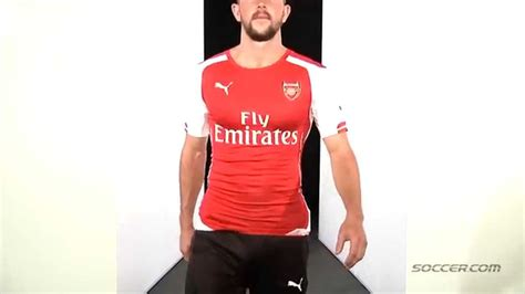 Jersey Arsenal Home 1416 67000 arsenal authentic home jersey 14 15