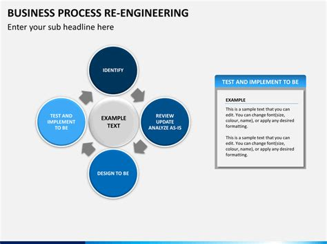 business process powerpoint templates business process re engineering powerpoint template