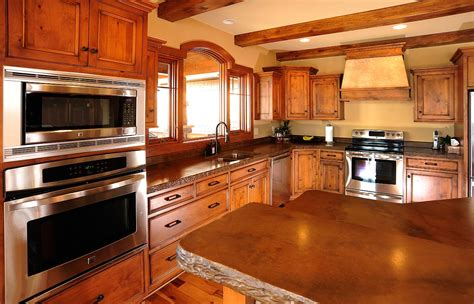 timber kitchen cabinets mullet cabinet rustic kitchen cabinets in timber frame home