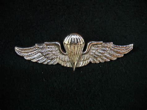 Brevet Wing Tni Ad Yongmodo koleksi militer jadoel brevet wing patch tni
