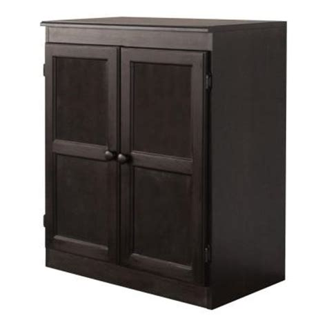 Home Depot Kitchen Storage Cabinets Concepts In Wood Multi Use Storage Pantry In Espresso Kt613c 3036 E The Home Depot
