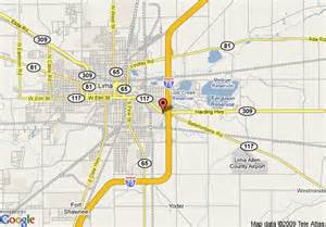 Lima Ohio Map by Map Of Travelodge Lima Lima