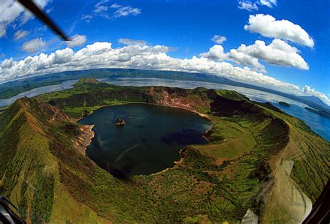 Lake With An Island Mystery vulcan point island thrillist