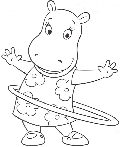 Free Printable Backyardigans Coloring Pages For Kids The Backyardigans Coloring Pages
