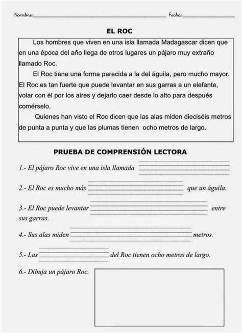 497. LECTURAS COMPRENSIVAS 2º PRIMARIA (con imágenes