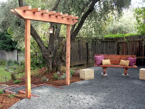diy arbor trellis how to build a simple garden arbor the garden glove
