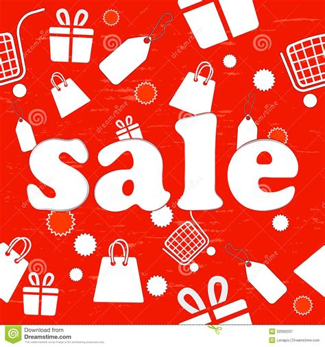 background item sale seamless background royalty free stock photography