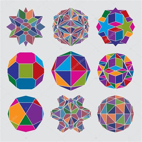 imagenes geometricas tridimensionales colecci 243 n de esferas tridimensionales complejas archivo