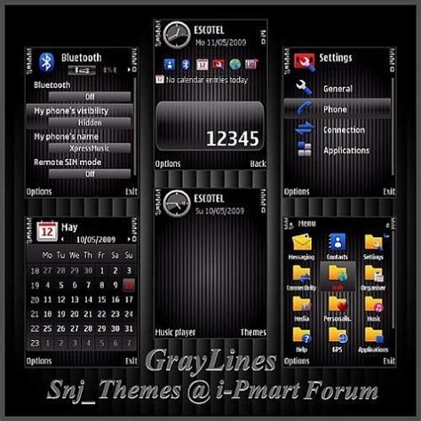 install themes nokia e71 for nokia e71 themes