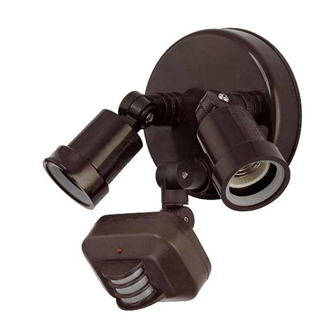 outdoor lighting motion activated acclaim lighting 2 light architectural bronze outdoor