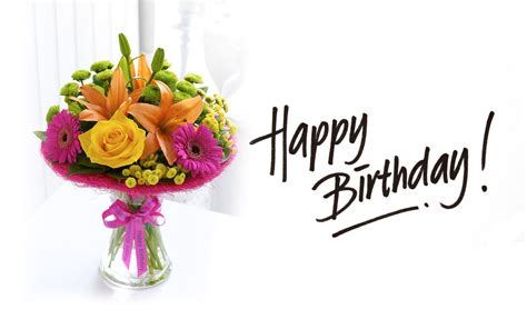 Lots Of Fun Meaning Happy Birthday Flowers Images Pictures And Wallpapers