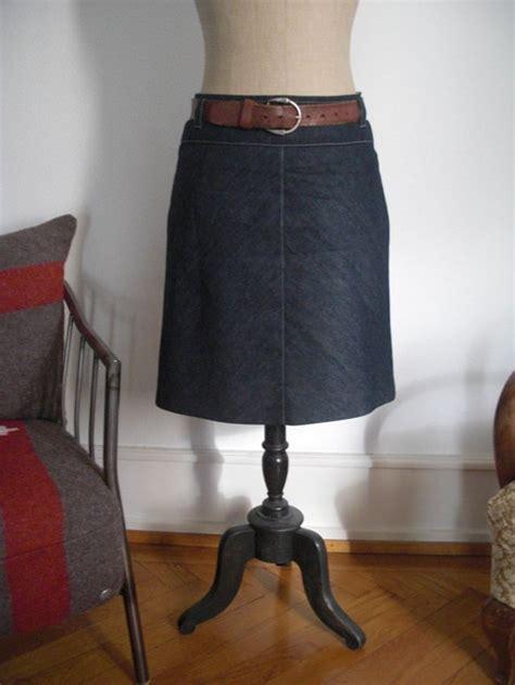 bias cut denim skirt sewing projects burdastylecom