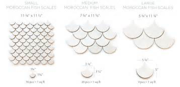 Moroccan fish scales
