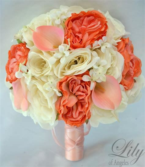 Wedding Bouquet Decorations by 17 Package Silk Flowers Wedding Bridal