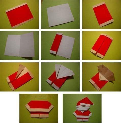 Pinterest Garden Craft Ideas - creative ideas diy cute origami santa