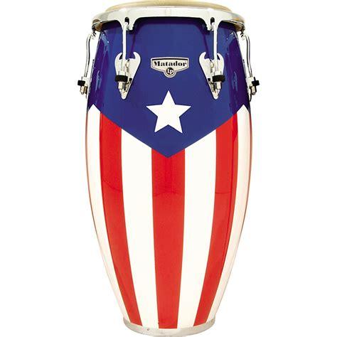 lp matador puerto rican flag conga musician s friend