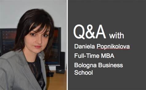 Mba Bologna by The Bologna Business School Q A Businessbecause