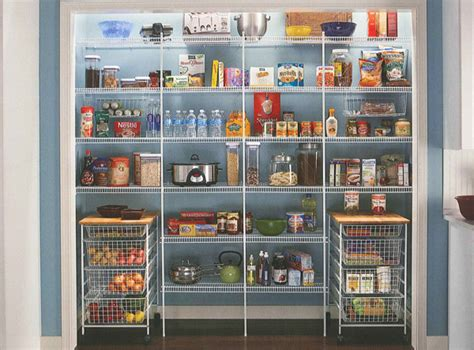 Wire Shelving For Pantry by Closetmaid Pantry Shelves Roselawnlutheran