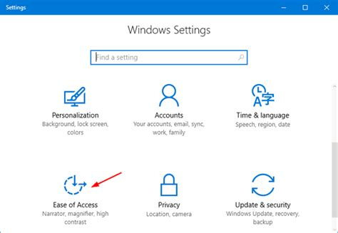 reset windows password ease of access tutorial how to turn on mouse keys in windows 10