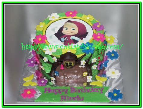 Kue Ultah Marsha kue ulang tahun masha and the rindu jual kue