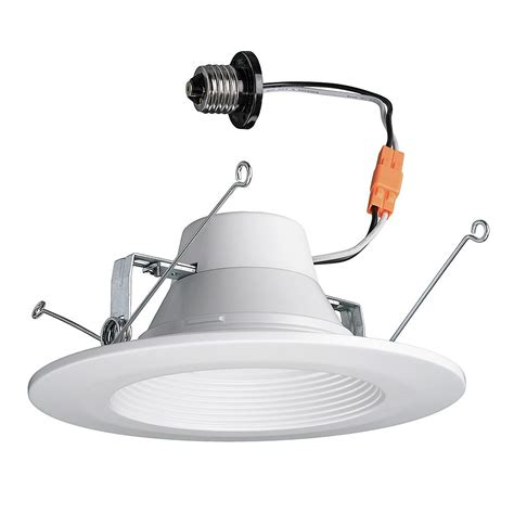 commercial electric 5 inch recessed lighting commercial electric 5 6 in color selectable white