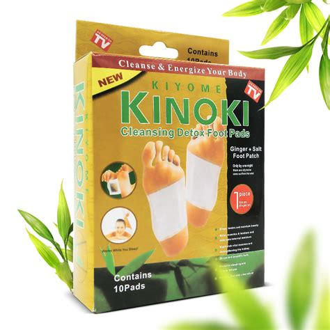 Kinoki Patches Detox by Retail Box Gold Premium Kinoki Detox Foot Pads Cleanse
