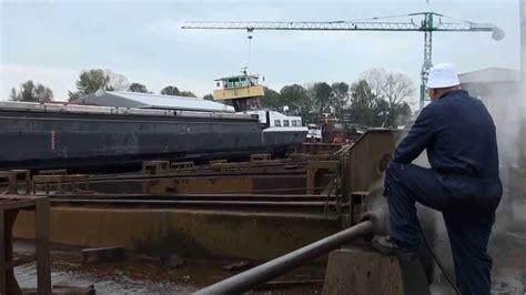 binnenvaartschepen te koop 2013 binnenvaartschip te water laten wout liezen meppel