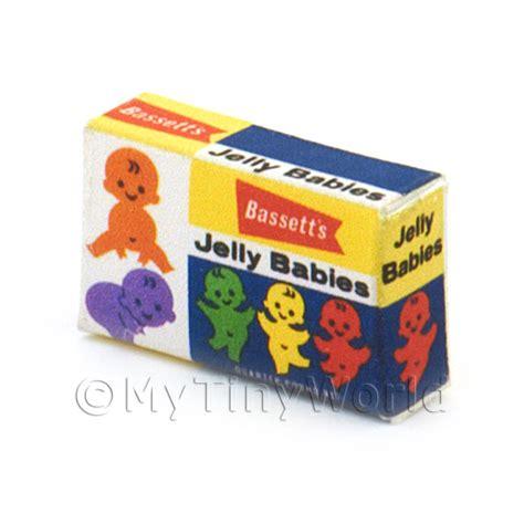 New Packing New Honey Jelly Box Original dolls house miniature packaging dolls house miniature jelly baby box from 1960s