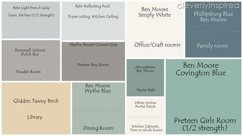 paint colors cleverlyinspired