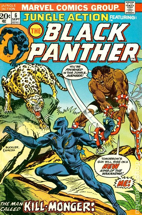 marvel s black panther the junior novel books jungle comic books issue 6