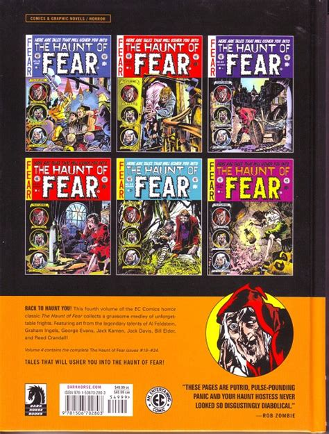 the ec archives the haunt of fear volume 5 ec archives the 94 the haunt of fear volume 4