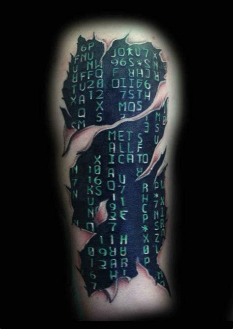 matrix tattoo by ray tutty tattoo studio flickr