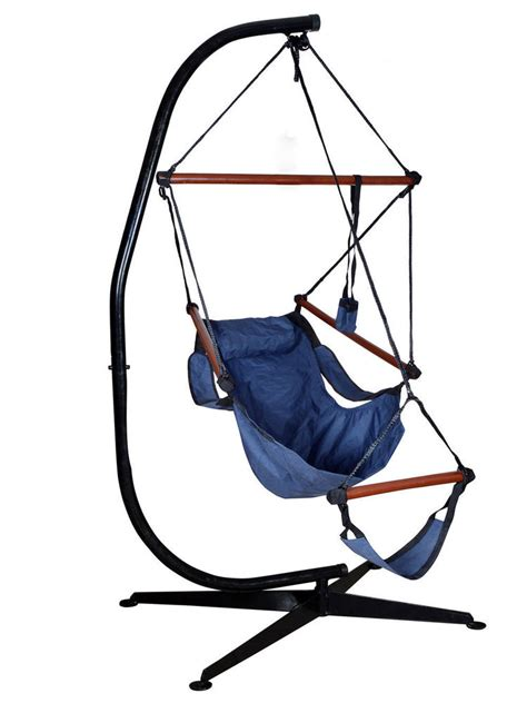chair swing stand hammock c frame stand solid steel construction for hanging