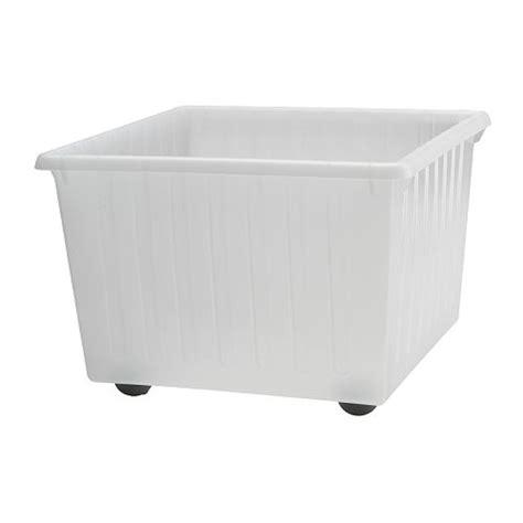 ikea crate vessla storage crate with casters ikea