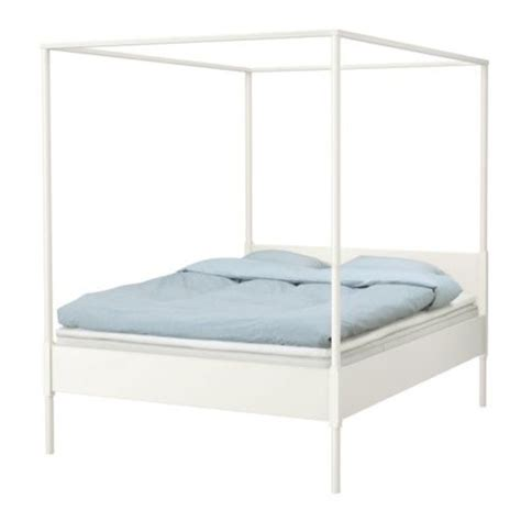 Ikea Canopy Bed Edland Four Poster Bed Ikea Four Poster Beds Statement Beds Photo Gallery Housetohome