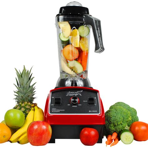fruit blender new 3hp high performance commercial pro fruit smoothie