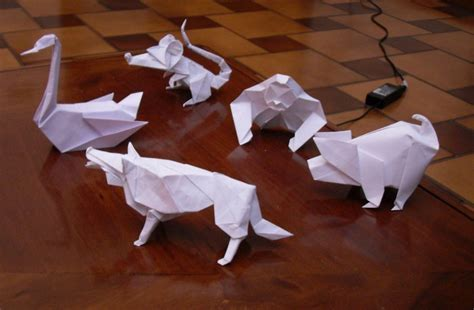 Origami Zoo - origami zoo by orestigami on deviantart