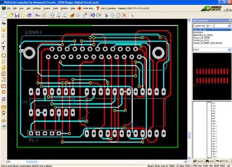 layout artist software fantastic free pcb layout photos electrical circuit