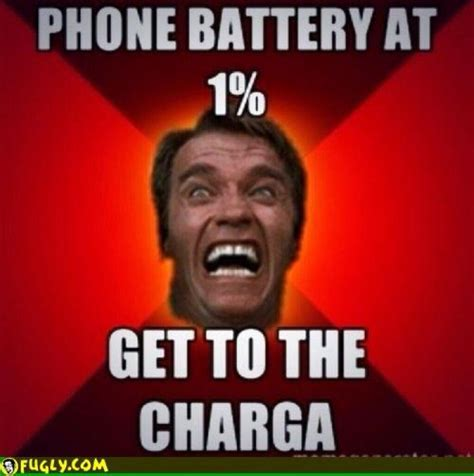 Mobile Phone Meme - phone battery at 1 percent meme