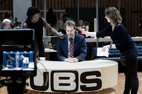bryan cranston national theatre photos of bryan cranston in rehearsals for network at the