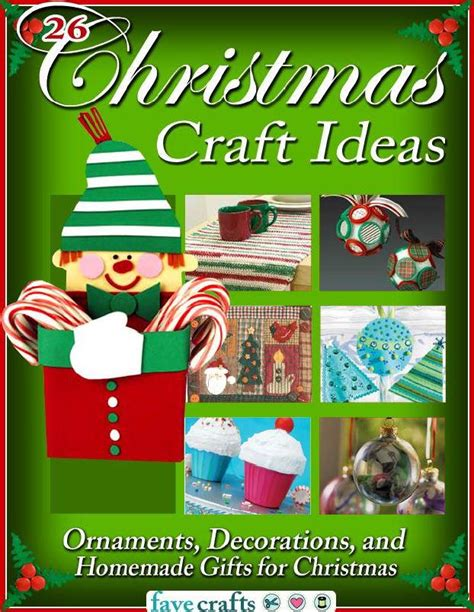 christmas craft ideas ornaments decorations