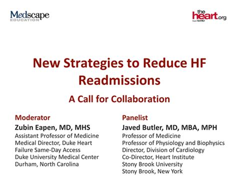 Butler Mba Program Cost by New Strategies To Reduce Hf Readmissions A Call For