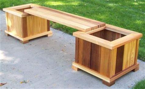 planter seat bench planter box bench seat nature explore what a deck head pinte