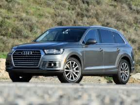 Audi 3 Row Suv Powersteering 2017 Audi Q7 Review J D Power Cars