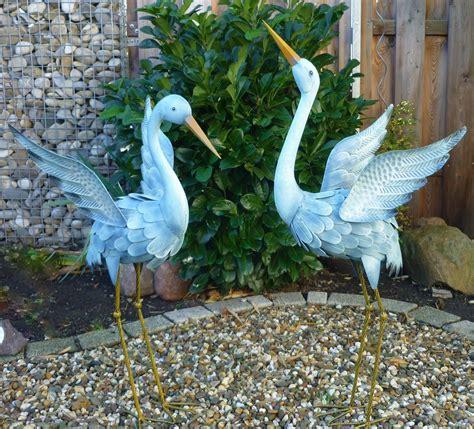 Gartenfiguren Metall Gartendekorationen