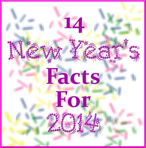 new year the facts 14 new year s facts