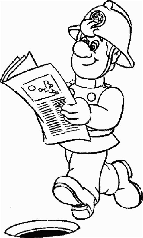 free coloring pages of penny fireman sam