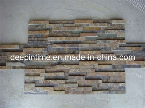 china stacked slate tiles china wall decorative stone